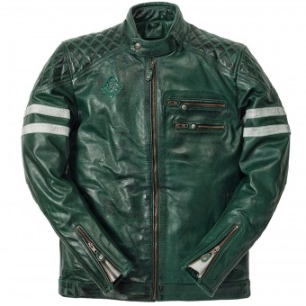 Motorradjacke Ride & Sons Magnificient Skin Forrest Green