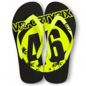 Geschenkartikel VR 46 Sandals Black Yellow VR46