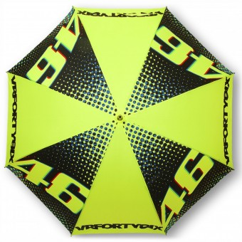Geschenkartikel VR 46 Umbrella Big VR46 Yellow Black