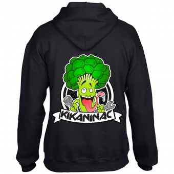 Motorrad Pullover Kikaninac Sweat Broco Black