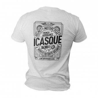 Motorrad T-Shirts  iCasque Savage Black