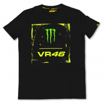 Motorrad T-Shirts  VR 46 Monster Black VR46