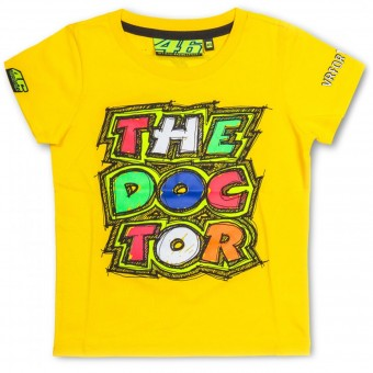 Motorrad T-Shirts  VR 46 T-Shirt Kid The Doctor Yellow VR46