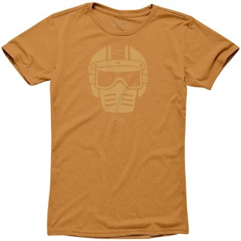 Motorrad T-Shirts  Alpinestars Visor Tee Orange Heather