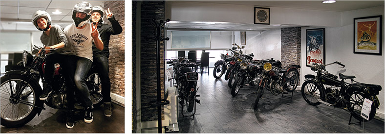 The Werther Pasquetti Motorcycle Museum