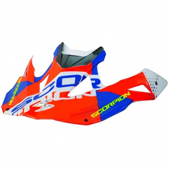 Helm-Ersatzteile Scorpion Peak VX-15 Evo Air Akra White Red Blue