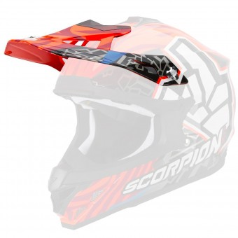 Helm-Ersatzteile Scorpion Peak VX-15 Evo Air Rok Bagoros Neon Orange