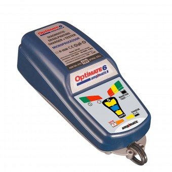 Motorrad Batterie Tecmate Optimate 6 Amp-Matic