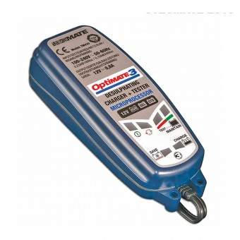 Motorrad Batterie Tecmate Optimate 3