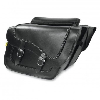 Seitentaschen Wille & Max Braided Slant Saddlebags