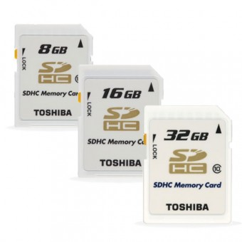 Bordkamera TOSHIBA Carte Memoire SD