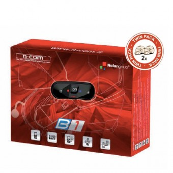 Kommunikation Nolan Kit Bluetooth B1 Twin Pack for N104 - N44