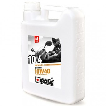 Motoröl IPONE 10.4 - 10W40 Synthetic - 4 Liter 4T