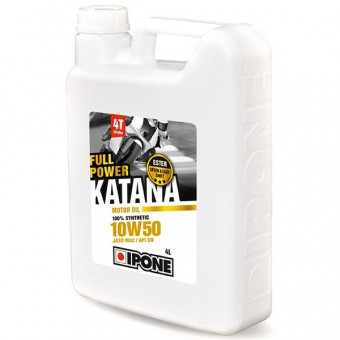 Motoröl IPONE Full Power Katana - 10W50 100 % Synthetic - 4 Liter 4T