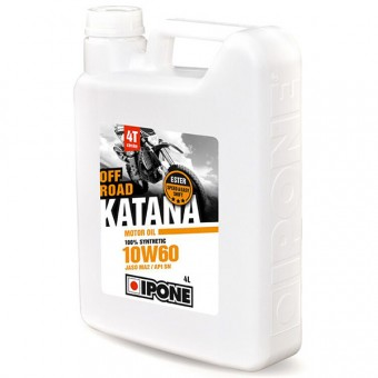 Motoröl IPONE Katana Off Road - 10W60 100 % Synthetic - 4 Liter 4T