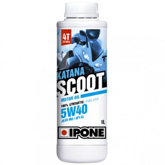 Motoröl IPONE Katana Scoot - 5W40 100 % Synthetic - 1 Liter 4T
