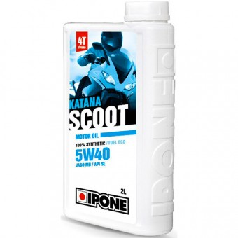 Motoröl IPONE Katana Scoot - 5W40 100 % Synthetic - 2 Liter 4T