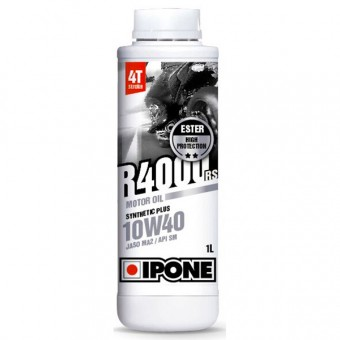 Motoröl IPONE R4000 RS - 10W40 Synthetic Plus - 1 Liter 4T
