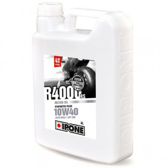 Motoröl IPONE R4000 RS - 10W40 Synthetic Plus - 4 Liter 4T
