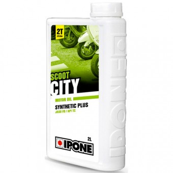 Motoröl IPONE Scoot City - Synthetic Plus - 2 Liter 2T