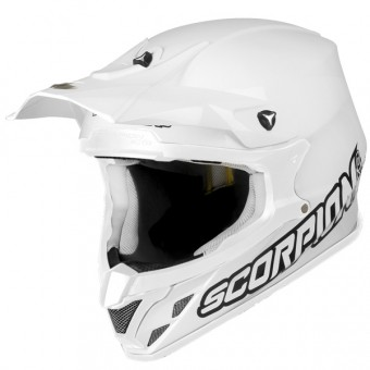 Casque Cross Scorpion VX-20 Air Weiß