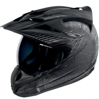 Casque Cross ICON Variant Battlescar Charcoal