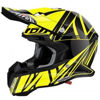 Casque Cross Airoh Terminator 2.1 Cut Yellow