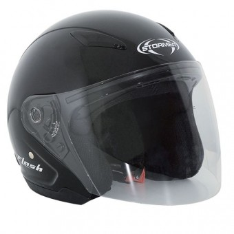 Casque Kinder Stormer Flash Kid Schwarz