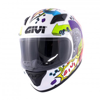 Casque Kinder Givi HJ04 White Deco