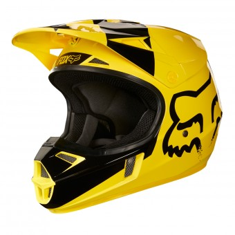 Casque Kinder FOX V1 Master Yellow - Kinder