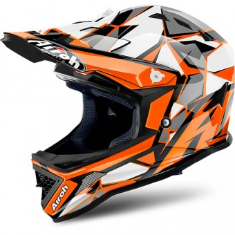 Casque Kinder Airoh Archer Chief Orange
