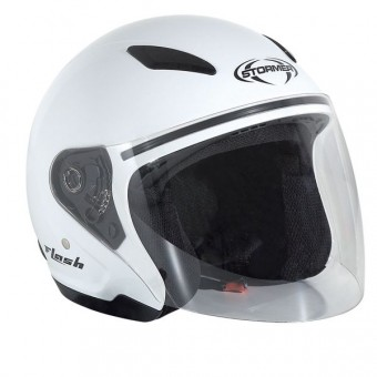 Casque Kinder Stormer Flash Kid Weiß