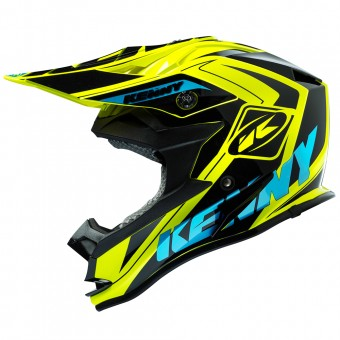 Casque Kinder Kenny Performance Yellow Fluo Cyan Kid