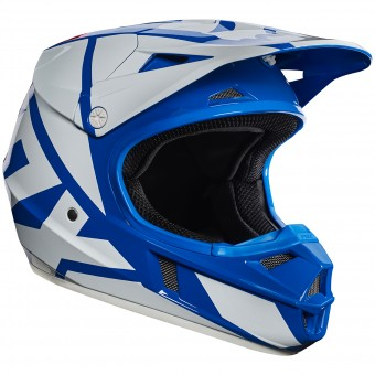 Casque Kinder FOX V1 Race Blue 002- Kinder