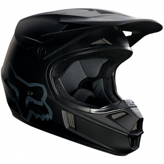 Casque Kinder FOX V1 Race Matte Black 255- Kinder