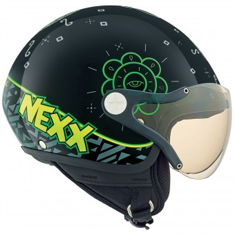 Casque Kinder Nexx X60 Kids Goomy Black Green