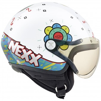 Casque Kinder Nexx X60 Kids Goomy White