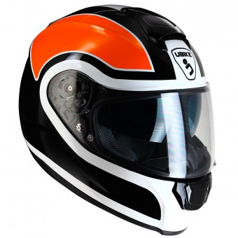 Casque Integral UBIKE Chronos Racing Orange