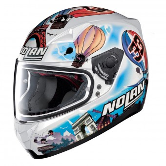 Casque Integral Nolan N60 5 Gemini Replica M. Melandri France 38