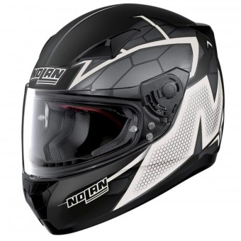 Casque Integral Nolan N60 5 Hexagon Flat Black White 8