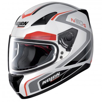 Casque Integral Nolan N60 5 Practice Metal White 19