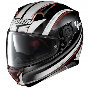 Casque Integral Nolan N87 Moto Gp N-Com Flat Black 61