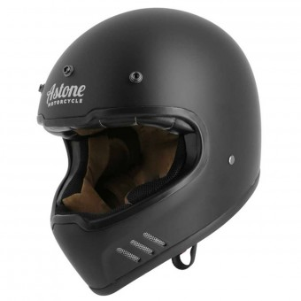 Casque Integral Astone Super Retro Matt Black