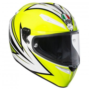Casque Integral AGV Veloce S Vitali 2016 Yellow Fluo White