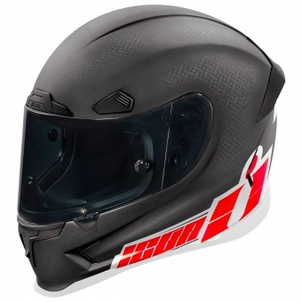 Casque Integral ICON Aiframe Pro Flash Bang Carbon Red