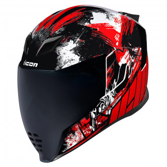 Casque Integral ICON Airflite Stem Red