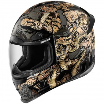 Casque Integral ICON Aiframe Pro Cottonmouth Gold