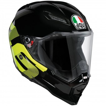 Casque Integral AGV AX-8 Evo Naked Top Identity