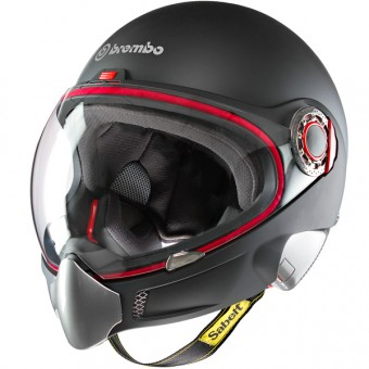 Casque Integral Brembo B.Tech Schwarz Matt
