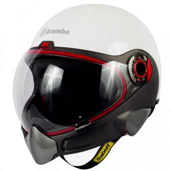 Casque Integral Brembo B.Tech Weiß Brillant